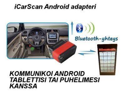 iCarScan 2.0 vikakoodinlukija + 7'' tabletti