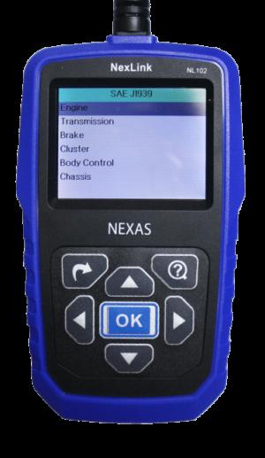 Vikakoodinlukija NexLink NL102 raskaalle kalustolle