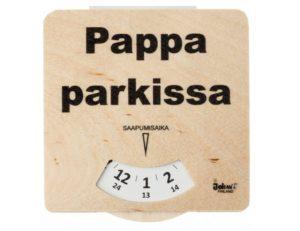 Puinen parkkikiekko Johan Finland