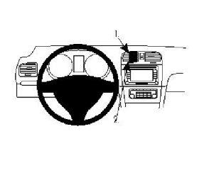 Brodit ProClip Volkswagen Golf VI