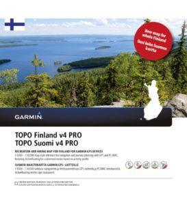 TOPO Finland v4 PRO kartta