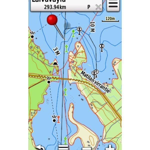 GPS TOPO maastokartta