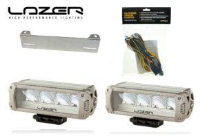 Lisävalopaketti Lazer Triple-R 750 Elite, Titaani