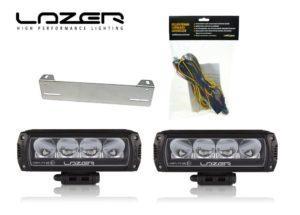 Lisävalopaketti Lazer Triple-R 750, Musta