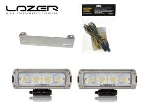 Lisävalopaketti Lazer Triple-R 750, Titaani
