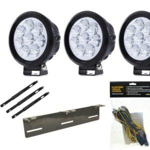 Lisävalopaketti LuminaLights Power X80, Premium X3