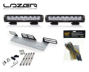Lisävalopaketti X2 Lazer Triple-R 1000