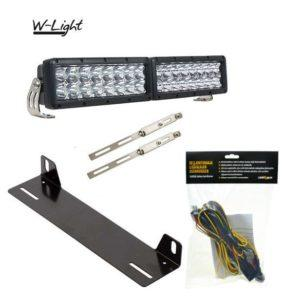 LED-lisävalosetti W-Light Typhoon Mini LED