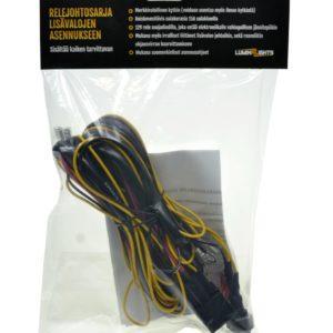 Relejohtosarja Lazer valoille AMP-liittimillä