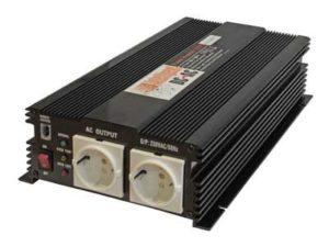 Invertteri 1500W, 12V, Intelligent
