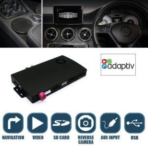 Adaptiv Mercedes B navigointi
