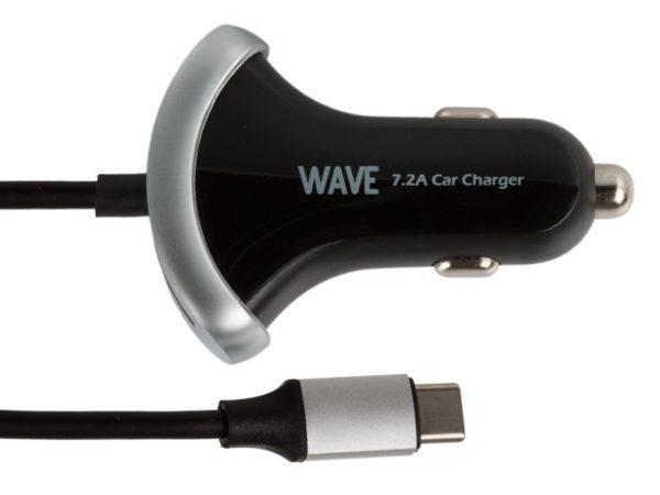 WAVE Teholaturi kahdella USB