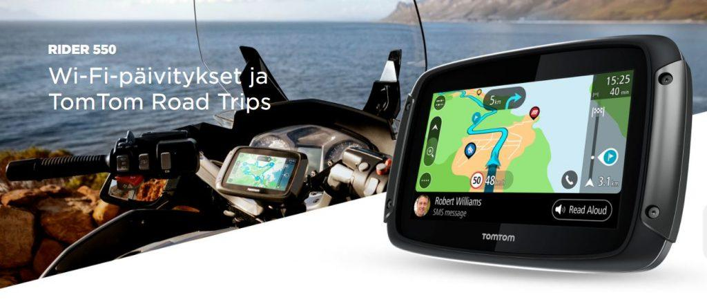 TomTom Rider Road Trips