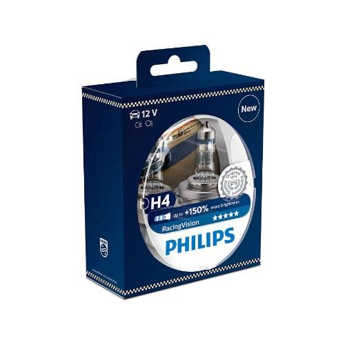 Philips H4 halogen polttimo Racing Vision