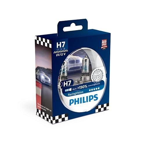 Philips H7 halogen polttimo Racing Vision