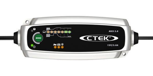 CTEK MXS 3.8 akku- ja ylläpitolaturi