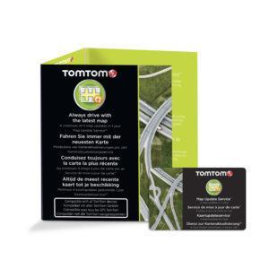 TomTom karttapäivitys kortti