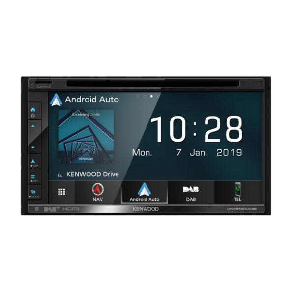 Kenwood DNX5190DABS android auto