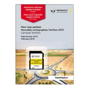 Renault karttapäivitys TomTom Carminat Eurooppa