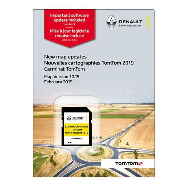 Renault Karttapaivitys Tomtom Carminat Automasa Fi