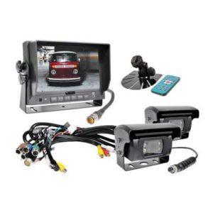 Peruutuskamerasarja S-Vision ammattikäyttöön 24v kahdella kameralla
