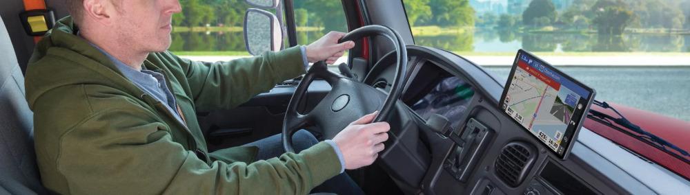 garmin dezl luotettava kuorma-autonavigaattori