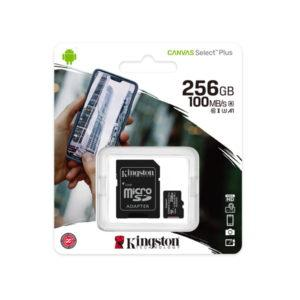 Muistikortti-Kingston-MicroSD-256GB