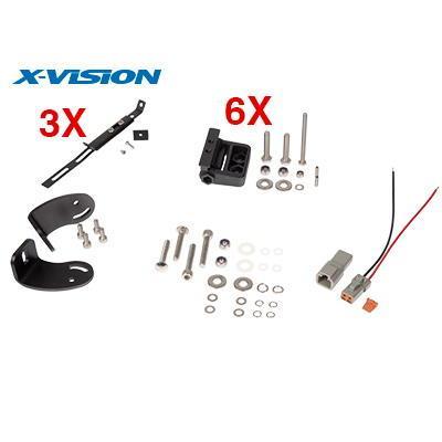 LED-lisävalo X-Vision Genesis 800 7