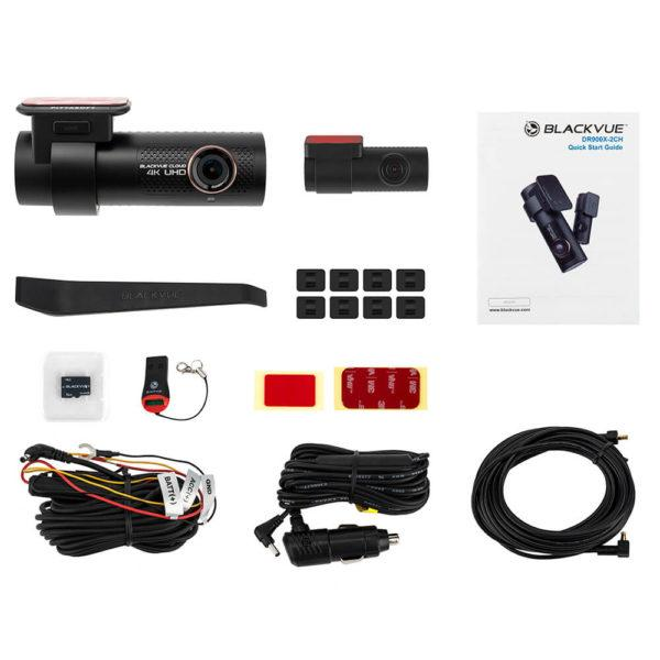 BlackVue DR900X 2CH pakkaussisältö