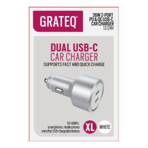 Autolaturi USB-C pikalataus 36W