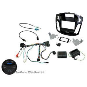 Ford-Focus-2015 -2-DIN-soittimen-asennussarja