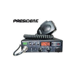 President CB-radiopuhelin 12-24V