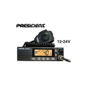 President CB-radiopuhelin Johnson II