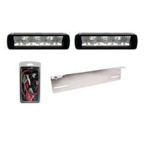 LED-lisävalosetti Optibeam Savage 12 X2