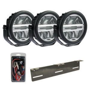 LED-lisävalosetti Optibeam Savage 7 X3