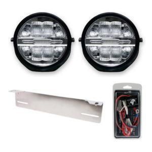 LED-lisävalosetti Optibeam Savage 9 X2