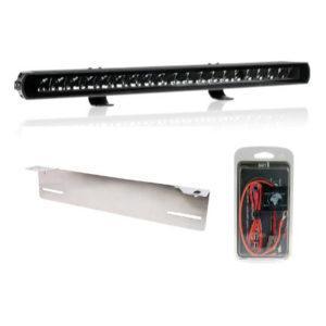 LED-lisävalosetti Seeker Ultima 20 Curved