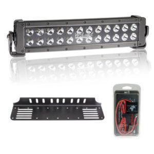LED-lisävalosetti W-Light Hurricane 400